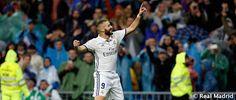 Benzema no perdona ante el Málaga