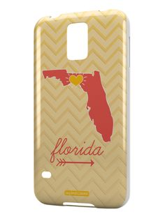 Florida Chevron Pattern State Case for Galaxy S5