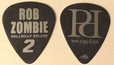 Rob Zombie guitar pick www.pickbay.com