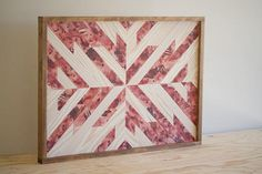 Contemporary Wood Wall Art. All pieces are original designs made from stained and painted pine lath. --------------------------------------------------------  Approximate Dimensions: 29 x 21 x 1.5  ---------------------------------------------------------  If ordering from the College Station area, please contact me for delivery options.