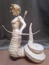 medusa bow and arrow - Google Search Medusa, Arrow, Garden Sculpture, Bows, Statue, Tattoo, Google Search, Outdoor Decor, Jellyfish
