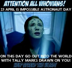 SPREAD THE WORD Oh god, can you imagine all the non-whovians we could scare the pants off of?!