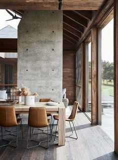 A Modern Country Home Inspired By The Aussie Shed (The Design Files) Home Interior, Interior And Exterior, Interior Design, Cabinet D Architecture, Interior Architecture, Victorian Sheds, Rural Retreats, Dining Room Inspiration, The Design Files