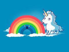 Tasty Rainbow | Funny, cute & nerdy shirts                           | TeeTurtle