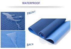 TPE yoga mats's advantages----waterproof on both sides. To get this TPE yoga mats, pls click  http://www.yogaers.com/TPE-yoga-mat.asp
