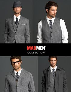 35f502d78f98 Mad Men Collection at Banana Republic. Madmen Style