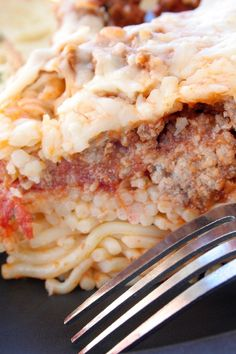 Baked Spaghetti (Weight Watchers Friendly)