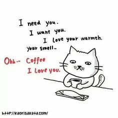 Ohh.. #Coffee.. I love you ♥ ♥ ♥