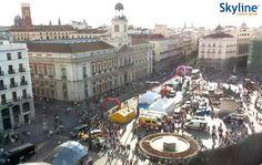 Live Cam Madrid - Puerta del Sol