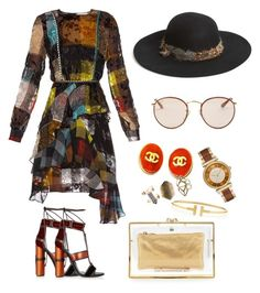 """""""Untitled #7"""" by jasonlu on Polyvore featuring Preen, Christys', Chanel, Tiffany & Co., Michael Kors, Wet Seal, Charlotte Olympia, Ray-Ban and Tom Ford"""