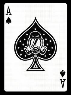 Ace of spades - The Curious Brain » Breaking Bad Face Cards