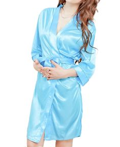 2016 Women 5Colors Classic Free size Bathrobe Pure Role-playing Sexy Lingerie Wild Temptation sleepwear for lady Clothes gifts