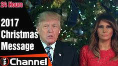 President Trump and First Lady Melania Trump's 2017 Christmas Message   24h channel https://youtu.be/NxTKZ6pzI7o