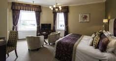 With a stunning view from the bedroom, the decor just tops the perfection off Imperial Hotel, North Devon, Luxury Accommodation, Stunning View, Bedrooms, River, Star, Furniture, Home Decor
