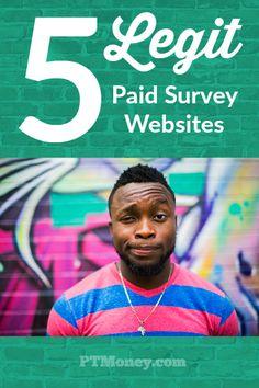 5 Legit Paid Survey Sites to Make Some Extra Money