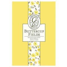 Greenleaf Large Scented Envelope Sachet - Buttercup Fields