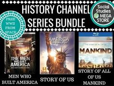 Story of Us - Men Who Built America - Mankind Story of US - History Channel Bundle - BONUS ITEM THROWN IN! YOU WILL NOT BE DISAPPOINTED AS I HAVE MADE THIS $15.00 OFF WHAT IT WOULD NORMALLY SELL FOR. IT IS ONLY 25.95!!! This product is also included in a bundle that has all of my best-selling  FIRST SEMESTER OF US HISTORY  or try my  THE WHOLE YEAR OF US HISTORY MEN WHO BUILT AMERICA- This is an assignment that I created seeing the need for a good explanation of big business in the 1800's.