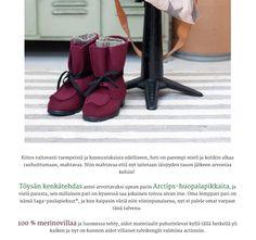 Töysän kenkätehtaan Arctips-saappaat Parolan asema -blogissa marraskuussa 2013. Koko blogaus täällä: http://parolanasema.blogspot.fr/2013/11/arctips-arvonta.html