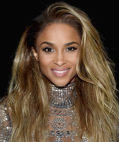 Ciara's voluminous hair and bold brows are so beautiful