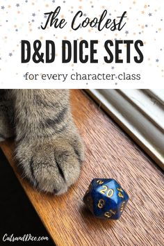 Each D&D character class is so unique, and you deserve unique D&D dice sets to play with. these are the coolest D&D dice sets for every character class including dice for bards, rogues, wizards, clerics, barbarians, and more.