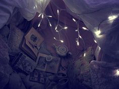 Hideaway with Me in my Pretty Cave of Lights