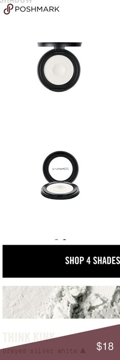 Brand New MAC Pressed Pigments Eyeshadow Brand New MAC Pressed Pigments Eyeshadow in color Think Kink.  All reasonable offers are considered and appreciated No trades. MAC Cosmetics Makeup Eyeshadow