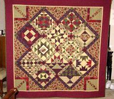 Sampler Quilt Settings On Pinterest Sampler Quilts