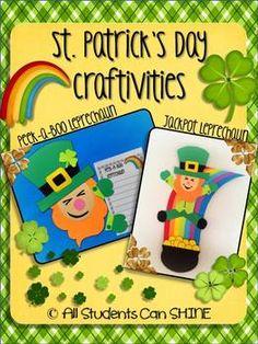 St.Patrick's Day Craftivities - Leprechauns!!