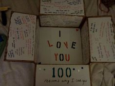 100 reasons care package (for mikes next deployment) Missionary Packages, Deployment Care Packages, Deployment Gifts, Military Love, Army Love, 100 Reasons Why I Love You, Marine Mom, Navy Life, Cute Gifts
