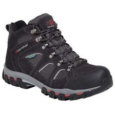 Weathertite Boots These great value boots are waterproof comfortable boot that allows your feet to breathe while offering them great protection and support while you are hiking, fishing, working or just out for a stroll. The Bodmin Mid IV Boot has a Phylon midsole coupled with a Karrimor Duragrip rubber outsole to offer a cushioned and sturdy support, with a smart suede and mesh upper making these hiking boots great for the walking the hills and the pavements!  Suede and mesh upper…