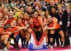 handbal womenteam Silver - Worldchampionship