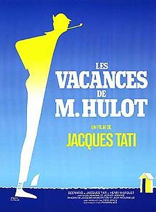 February 25, 1953– Release, in France, of Jacques Tati's film Les vacances de M. Hulot, introducing the gauche character of Monsieur Hulot.