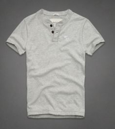 Henleys Abercrombie Cinza AF1459 I love wearing this.