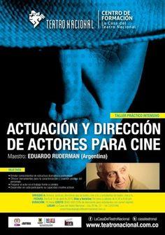 Actuación y dirección de actores para cine