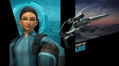 """Thunderbirds Are Go's covert ops specialist Kayo, and her """"Shadow"""" craft. Image…"""