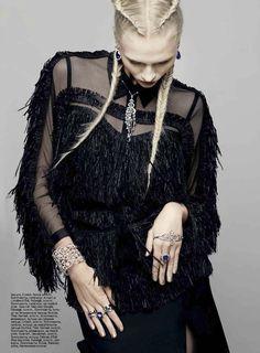 Harper's Bazaar Ukraine March 2013