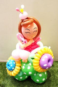 Doll balloon character #doll #balloon #sculpture #twist #character #art #doll #princess