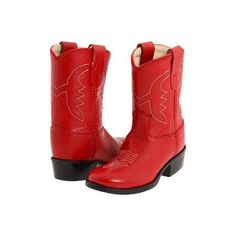 Old West Kids Boots Western Boot (Toddler).you need these for Rydan so he can have Ted Mosby boots! Red Cowgirl Boots, Red Boots, Western Boots, Cotton Eyed Joe, Ted Mosby, Cowgirl Party, Old West, Me Too Shoes, Kids