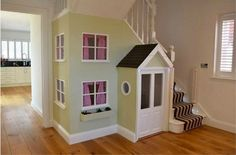 Wendy house understairs