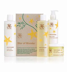 Presents of pure pampering. Be immersed in a luxurious spa experience with this calming fig blossom bath and body collection. Set includes Shower Gel (12 fl. oz.), Body Scrub (Net wt. 7 oz.), Bubble Bath (12 fl. oz.), and Body Lotion (5.5 fl. oz.).
