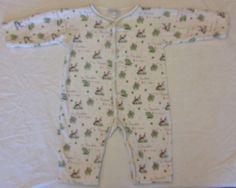 Kissy Kissy Infant 6-9 M Months Baby Boys Pajama Infant Sleeper Pima Cotton PJ's #kissykissy #OnePiece