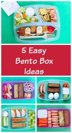 Packing a lunch box can get pretty mundane over time. Here are five @FarmRichSnacks bento box ideas that are fun, delicious, and easy to do. #ad #FarmRichBakery