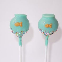 goldfish cake pops