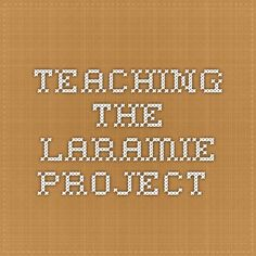 the laramie project essay