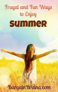 Frugal and Fun Ways to Enjoy Summer