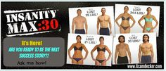 Insanity Max 30, What is Insanity Max 30, Insanity Max 30 Results, Week 1 Insanity Max 30, Shaun T New Workout, Insanity Max 30 Nutrition Plan
