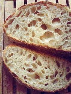 Recette du pain au levain liquide, pas à pas