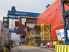 Another sponson section by QEClassCarriers, via Flickr