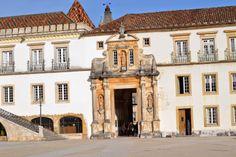 Stop-Klatka: gmach, uniwersytet, Coimbra, antyczny, architektur...
