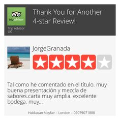 Wow! One of our customers just left on our Review Page a 4-star Review! Want to Review us too? Click or Tap here: https://hoy.cc/nf